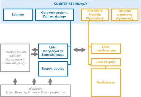 Model współpracy przy wdrożeniu systemu